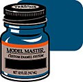 Model Master Ford/GM Engine Blue 1/2 oz -- Hobby and Model Enamel Paint -- #2727