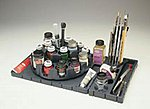 Model Master Paint Storage System/Carousel