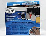 Acrylic Set 6 Color Primary TRI -- Hobby and Model Paint Set -- #9011