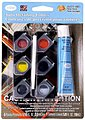 Acrylic Auto Detail Pod Set -- Hobby and Model Paint Set -- #9100