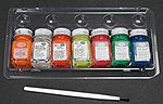 Fluorescent Paint Kit -- Hobby and Model Paint Set -- #9132