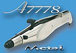 Aztek Master Pro Dbl Action Metal Airbrush Set