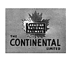 Lighted Drumhead Kit Canadian National The Continental -- HO Scale Model Railroad Lighting -- #153