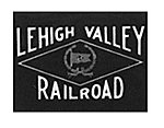 Lighted Drumhead Kit Lehigh Valley Black Herald -- HO Scale Model Railroad Lighting -- #460