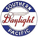 Drumhead Kit Southern Pacific Daylight Black & White -- HO Scale Model Railroad Lighting -- #936
