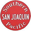 Lighted Drumhead Kit Southern Pacific San Joaquin -- HO Scale Model Railroad Lighting -- #939
