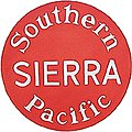 Lighted Drumhead Kit Southern Pacific Sierra -- HO Scale Model Railroad Lighting -- #944