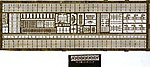 WWII US Destroyer Detail Set -- Plastic Model Ship Accessory -- 1/700 Scale -- #701
