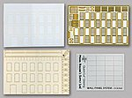 Wall Panel System Starter Set Kit Modern Brick -- O Scale Model Railroad Buiding Supply -- #50067