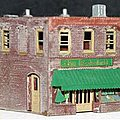 2-Story Retail Store - Z-Scale