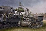 German Panzer IV Ausf F Chassis Munitions Carrier -- Plastic Model Kit -- 1/35 Scale -- #00363