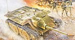 German E10 Tank Destroyer -- Plastic Model Military Vehicle Kit -- 1/35 Scale -- #00385
