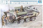 LAV-M Light Armored Mortar Carrier Vehicle -- Plastic Model Kit -- 1/35 Scale -- #00391