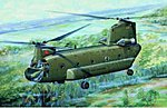 CH47A Chinook Medium-Lift Helicopter -- Plastic Model Helicopter -- 1/72 Scale -- #01621