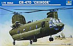 CH-47D Chinook Helicopter -- Plastic Model Helicopter -- 1/72 Scale -- #01622