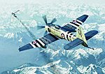 Hawker Sea Fury FB11 Fighter -- Plastic Model Airplane -- 1/72 Scale -- #01631