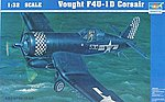 F4U1D Corsair Aircraft -- Plastic Model Airplane -- 1/32 Scale -- #02221