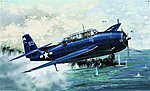 TBM3 Avenger Aircraft -- Plastic Model Airplane -- 1/32 Scale -- #02234