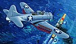 SBD3 Dauntless Midway US Navy Aircraft -- Plastic Model Airplane -- 1/32 Scale -- #02244