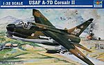 A-7D USAF Corsair II Aircraft -- Plastic Model Airplane -- 1/32 Scale -- #02245