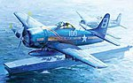 F8F1 Bearcat Fighter -- Plastic Model Airplane -- 1/32 Scale -- #02247