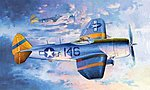 P47N Thunderbolt Fighter -- Plastic Model Airplane -- 1/32 Scale -- #02265
