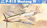 P51D Mustang IV Fighter -- Plastic Model Airplane Kit -- 1/32 Scale -- #02275