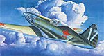 MiG3 Early Version Soviet Fighter Aircraft -- Plastic Model Airplane Kit -- 1/48 Scale -- #02830