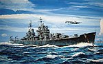 USS Baltimore CA68 Heavy Cruiser 1943 -- Plastic Model Military Ship Kit -- 1/700 Scale -- #05724