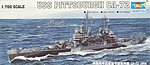 '44 USS Pittsburgh CA-72 Cruiser -- Plastic Model Military Ship Kit -- 1/700 Scale -- #05726