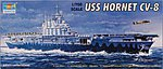 U.S.S. Hornet CV-8 US Aircraft Carrier -- Plastic Model Military Ship Kit -- 1/700 Scale -- #05727