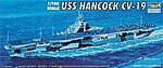 USS Hancock Aircraft Carrier -- Plastic Model Military Ship -- 1/700 Scale -- #05737