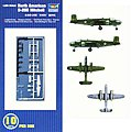 B-25B Mitchell Aircraft Carrier Fleet (10) -- Plastic Model Airplane Kit -- 1/350 Scale -- #06201