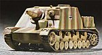 German Brummbar Late Production Tank -- Plastic Model Military Vehicle -- 1/72 Scale -- #07212