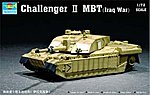 British Challenger II Main Battle Tank Iraq -- Plastic Model Kit -- 1/72 Scale -- #07215