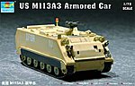 US M113A3 Armored Personnel Carrier -- Plastic Model Military Vehicle Kit -- 1/72 Scale -- #07240