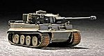German Tiger I Tank Early Version -- Plastic Model Military Vehicle Kit -- 1/72 Scale -- #07242