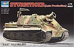 Stumtiger Assault Mortar Late Version -- Plastic Model Military Vehicle Kit -- 1/72 Scale -- #07247