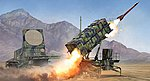 M901 Patriot Surface-to-Air Missile Launch -- Plastic Model Military Kit -- 1/35 Scale -- #1022