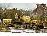3.7cm FLAK 43 on Sd.Kfz 1-35 -- Plastic Model Military Vehicle Kit -- 1/35 Scale -- #1527