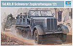 German SdKfz 8 12-Ton Heavy Halftrack -- Plastic Model Military Vehicle Kit -- 1/35 Scale -- #1583