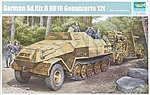 German SdKfz 8 Gepanzerte 12-Ton Halftrack -- Plastic Model Military Vehicle -- 1/35 Scale -- #1584