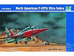 F107A Ultra Sabre Prototype Aircraft -- Plastic Model Airplane Kit -- 1/72 scale #1605