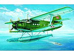 Antonov An-2V Colt Floats Aircraft -- Plastic Model Airplane Kit -- 1/72 Scale -- #1606
