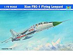 Xian FBC1 Flying Leopard Aircraft -- Plastic Model Airplane Kit -- 1/72 Scale -- #1608