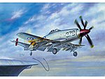 British Wyvern S4 Aircraft -- Plastic Model Airplane Kit -- 1/72 Scale -- #1619