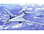 Russian Tu160 Blackjack Bomber Aircraft -- Plastic Model Airplane Kit -- 1/72 Scale -- #1620