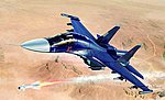 Russian SU-34 Fullback Fighter/Bomber -- Plastic Model Airplane Kit -- 1/72 Scale -- #1652