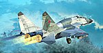 Mig-29SMT Fulcrum Product 9.19 Russian Fighter -- Plastic Model Airplane Kit -- 1/72 Scale -- #1676