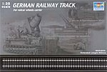 German Railway Track Set (36'' of Extra Track) -- Plastic Model Accessory -- 1/35 Scale -- #213
